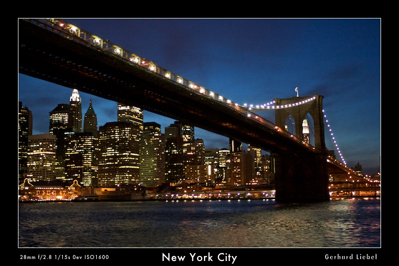 Die skylines dieser welt – new york city