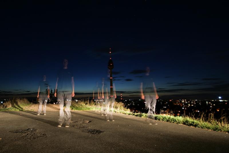 Cloning myself - Langzeitbelichtung - von Oliver Schäf