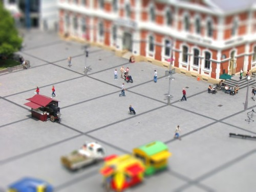 Christchurch tiltshift