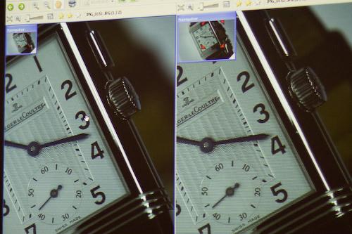 vergleich Uhr