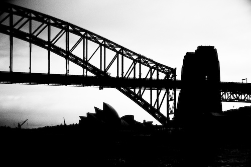 Harbour Bridge und Sydney Opera