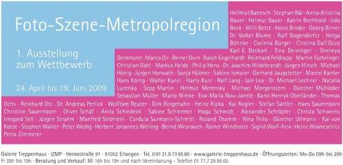 Flyer Foto Szene Metropolregion