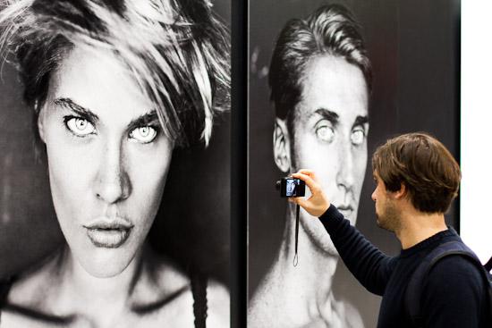 Wahnsinns Portraits auf dem Leica-Stand