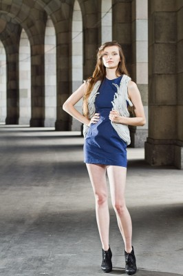 Fashion Shooting - Vanessas Semesterarbeit Outfit 2